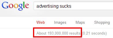 Even Google Knows It